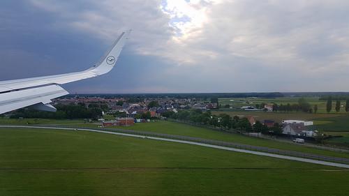 Flight MUC-BRU