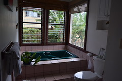The Bath Room - Bird of Paradise Room, Poipu Bed and Breakfast Inn, Koloa