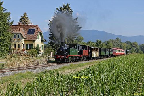 030T 1658-Couillet- 030T 51-La Meuse- Train St André-Sentheim à Aspach