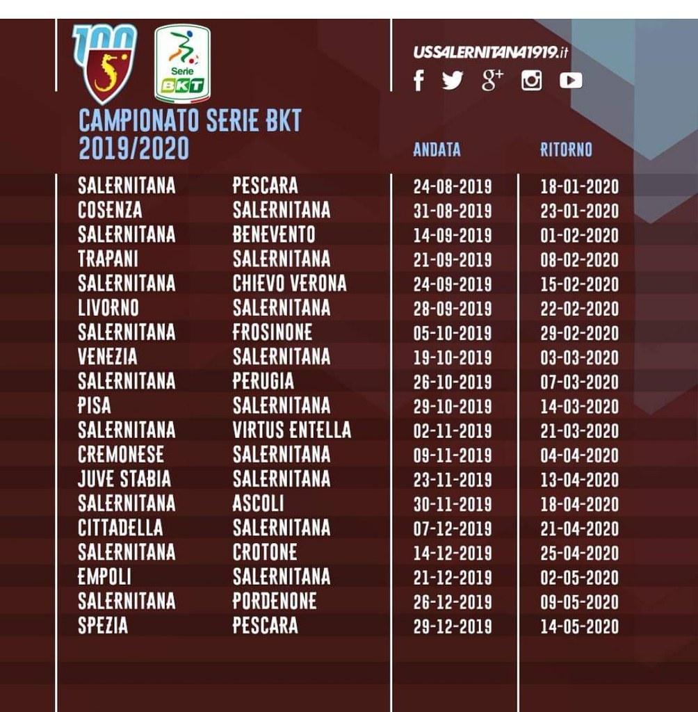 Calendario Serie A Download.Calendario Salernitana Download Photo Tomato To Search