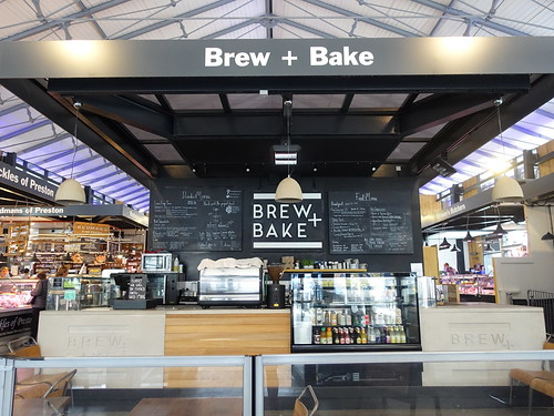 Brew + Bake cafe at Preston Market