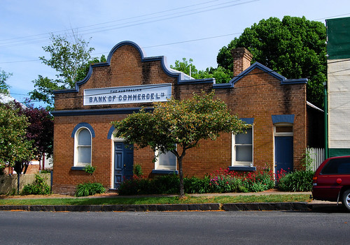 Australian Bank of Commerce, Millthorpe, NSW.