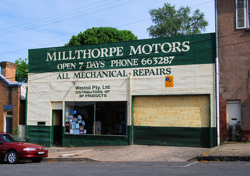 Millthorpe Motors, Millthorpe, NSW.
