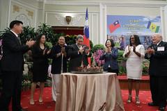 08.07 總統以國宴宴請聖文森及格瑞那丁總理龔薩福伉儷