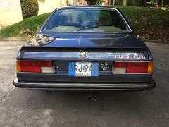 (045) Arktisblau Metallic 1983 BMW 628 CSi A E24
