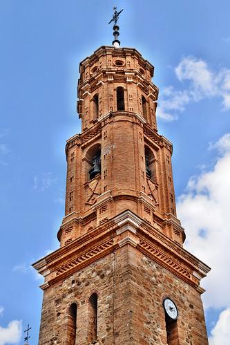 Torre de la iglesia de la Asunción (Ferreruela de Huerva)