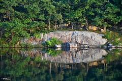 1000 Islands - majestic rock