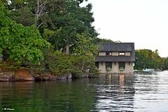 1000 Islands - boathouse