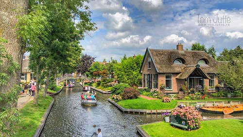 Giethoorn, Venice of the Netherlands - 2851