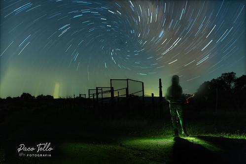 Fantasía de noche estrellada