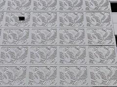 Palm Tree Motif Concrete Panels Former Burdines Parking Garage Dadeland Mall Miami