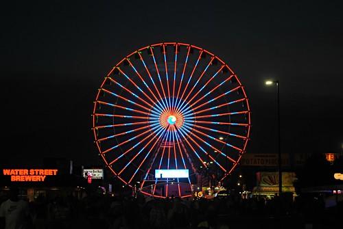 Nightfall at the Wisconsin State Fair