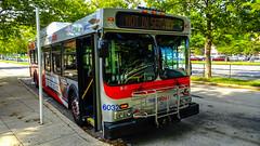 WMATA Metrobus 2005 New Flyer DE40LF #6032