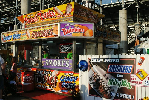 Deep Fried Food at the Wisconsin State Fair