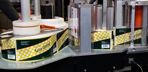 Saison Dupont Labels