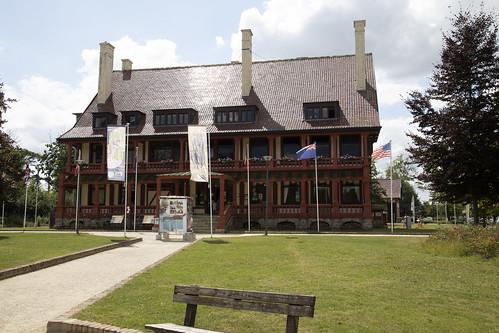 The Zonnebeke château,