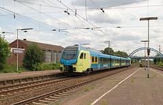 Image by rvdbreevaart (ruudvdbreevaart) and image name WestfalenBahn ET 405 - Salzbergen photo  about RE 15 Münster Hbf - Emden Hbf  Salzbergen, 6-8-2019