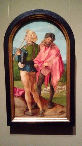 Pfeiffer und Trommler / Piper and drummer (1503/04), Albrecht Dürer (1471-1538)