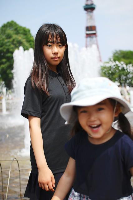 Photo:SAKURAKO and SAKIKO. By MIKI Yoshihito. (#mikiyoshihito)