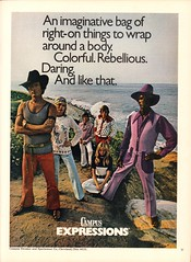 1971 Campus Expressions Clothing Advertisement Playboy Magazine April 1971