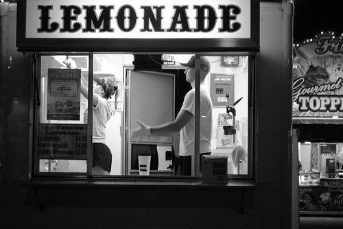 Lemonade Stand at the Wisconsin State Fair