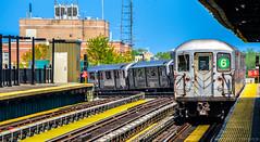 MTA New York City Subway Bombardier R62A #1776