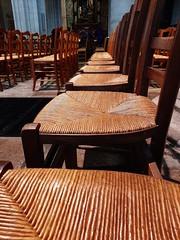 cathédrale à fleur de chaises