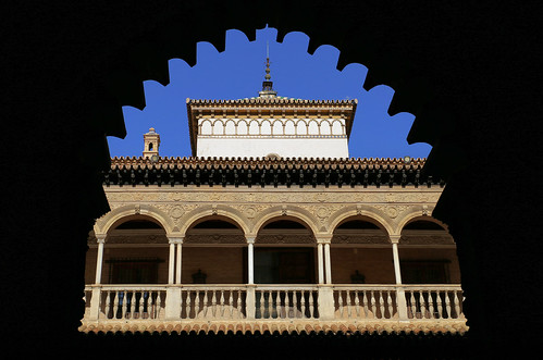 The Real Alcazar is a fortified Moorish palace
