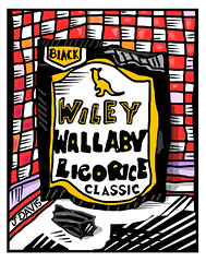 Wiley Wallaby Licorice