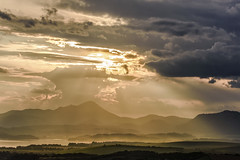 sunset in Liptov