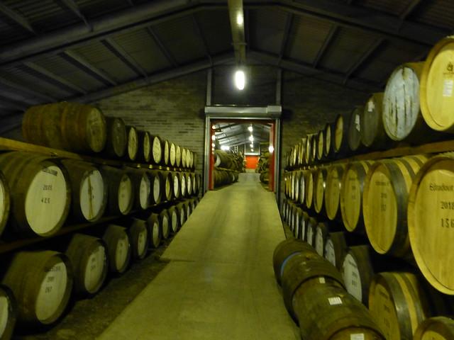 Bonded warehouse Edradour Distillery