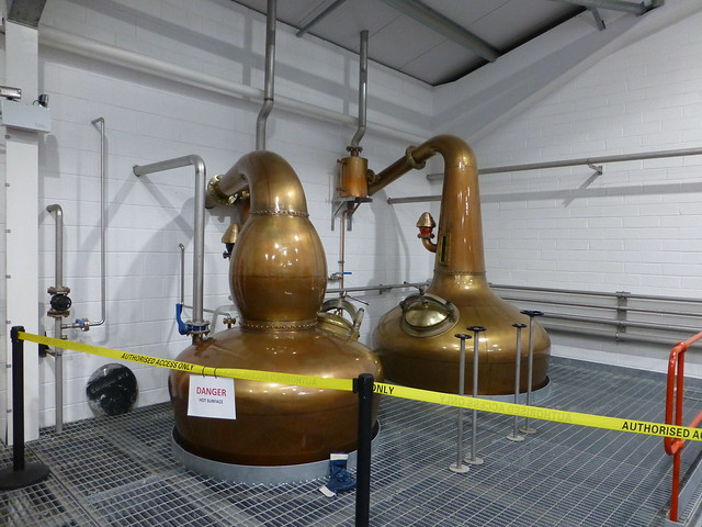 The two stills at Edradour Distellery
