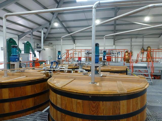 Mash Tuns Edradour Distillery