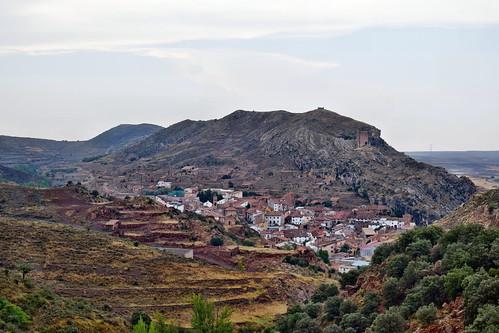 Vista del caserío (La Hoz de la Vieja)