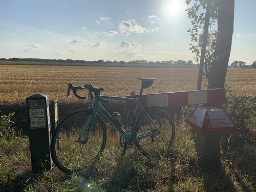65,9km ride on a lovely late summer Thursday ride