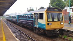 142006 and 150 number 284 to Rhymney at Caerphilly