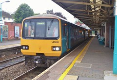 143616 and 142 number 080 to Penarth at Caerphilly