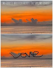 My Love Is Written Across The Sky, My Loves! - IMRAN™