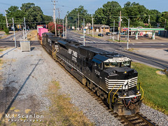 NS 7331 | EMD SD70ACU | NS Memphis District West End