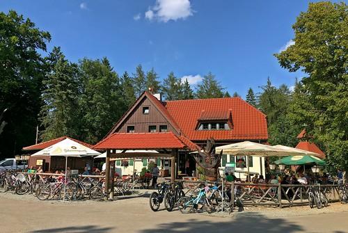 Tankstelle für Radler und Wanderer Weidmannsruh