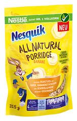 Nesquik All Natural Porridge - Banana