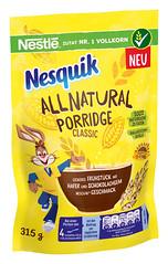Nesquik All Natural Porridge - Classic