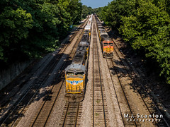 UP 4793 | EMD SD70M | UP Memphis Subdivision