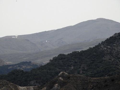 PICO VELETA - SIERRA NEVADA 3396,68 msnm -  radio telescope and observatory- Granada - Spain