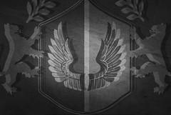 Grey Black Shield & Lion Background Image 2019 (Free to use)