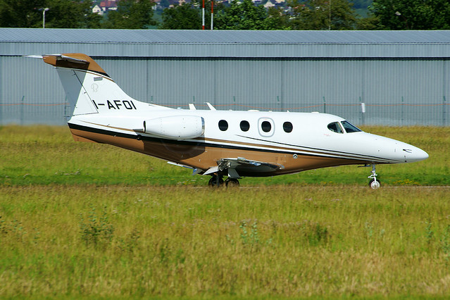 Photo:I-AFOI (cn RB-245)Hawker Beechcraft 390 Premier IA Italyfly By LFSB Planes Pictures