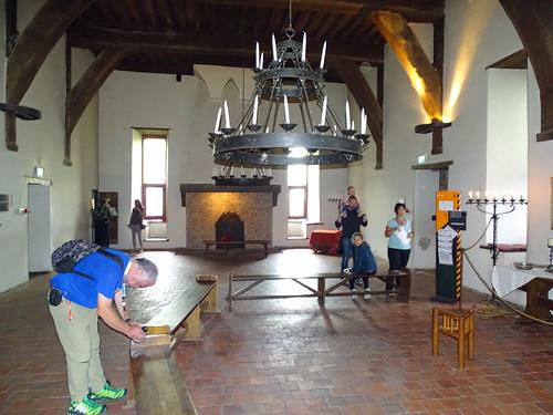 Inside Castle Loevestein