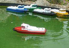 Radio control boat