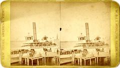 [Steamer Newport at Dock.]