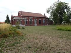 Salle des fêtes des cités de la fosse Arenberg des mines d'Anzin
